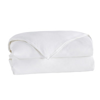 Leonara White Duvet Cover