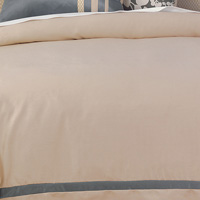 WITCOFF TAUPE DUVET COVER