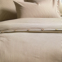HEIRLOOM TOBACCO DUVET COVER and Comforter