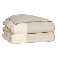 VIVO BISQUE HAND-TACKED COMFORTER