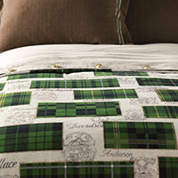 MACCALLUM SPRUCE DUVET COVER and Comforter