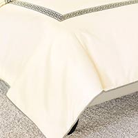FOLLY PARCHMENT DUVET COVER