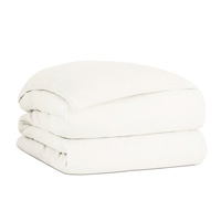 PIERCE MARBLE HAND-TACKED COMFORTER