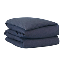 STRAUSS DENIM HAND-TACKED COMFORTER