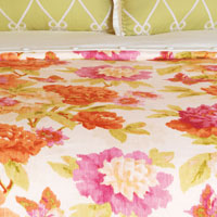 Caroline Azalea Duvet Cover and Comforter