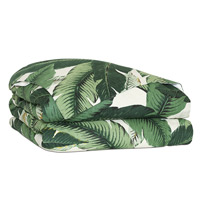 Lanai Palm Duvet Cover and Comforter