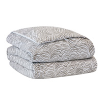 Amara Dove Hand-Tacked Comforter