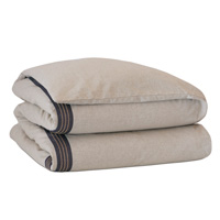 Greer Linen Hand-Tacked Comforter