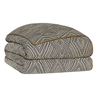 Naya Diamond Hand-Tacked Comforter