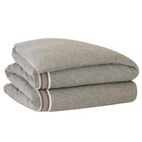 Border Espresso Hand-Tacked Comforter