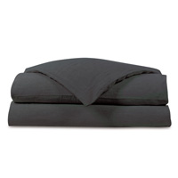 Shiloh Charcoal Duvet Cover
