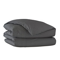 Vail Percale Duvet Cover in Slate