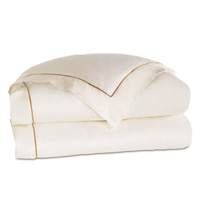 LINEA IVORY/ANTIQUE DUVET COVER