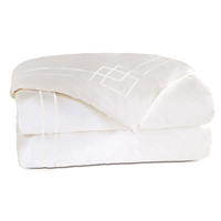 Grafico White/White Duvet Cover
