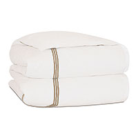 TESSA IVORY/ANTIQUE DUVET COVER CK