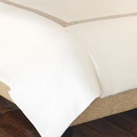 CORNICE IVORY/PEARL DUVET COVER and Comforter