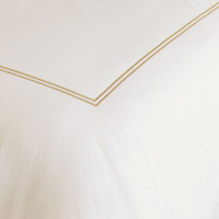 ENZO IVORY/ANTIQUE DUVET COVER