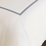 ENZO IVORY/NAVY DUVET COVER and Comforter