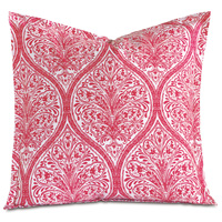 Adelle Percale Euro Sham in Sorbet