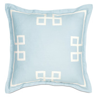 Resort Sky Fret Euro Sham