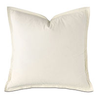 Vail Percale Euro Sham in Ivory