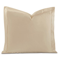 Fresco Luxe Sable Euro Sham