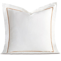 LINEA WHITE/ANTIQUE EURO SHAM