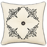 BREEZE PEARL TUFTED (BLOCK-PRINTED)