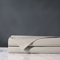 Vail Percale Flat Sheet in Bisque