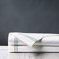 TESSA WHITE/LAKE FLAT SHEET