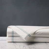 ENZO IVORY/LAKE FLAT SHEET