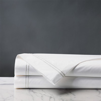 ENZO WHITE/WHITE FLAT SHEET