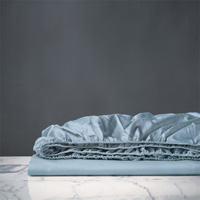 NUVOLA LUXE AZURE FITTED SHEET