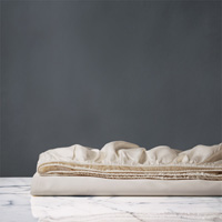 Nuvola Classic Ecru Fitted Sheet