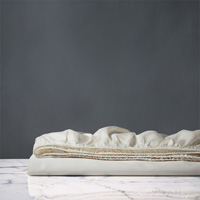 NUVOLA CLASSIC IVORY FITTED SHEET K