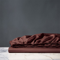 NUVOLA CLASSIC SHIRAZ FITTED SHEET