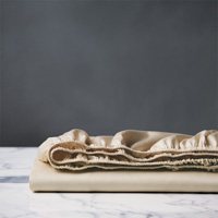 DELUCA ALMOND FITTED SHEET