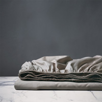 DELUCA FAWN FITTED SHEET