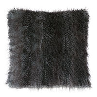 INDOCHINE FAUX FUR DECORATIVE PILLOW