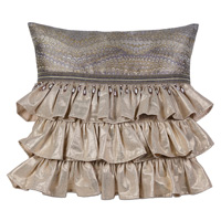 IMOGEN METAL WITH RUFFLES