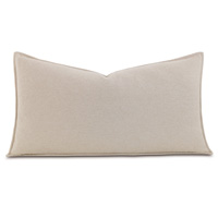 Brera Flannel King Sham in Bisque