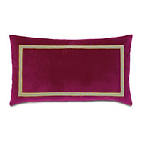 Plush Raspberry King Sham