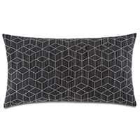 Bateman Charcoal King Sham
