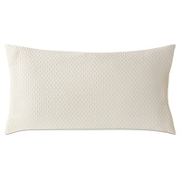 Tegan Matelasse King Sham in Ivory