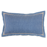 Paloma Woven King Sham in Blue
