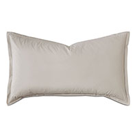 Vail Percale King Sham in Bisque
