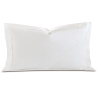 Fresco Luxe White King Sham