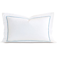 LINEA WHITE/AZURE KING SHAM