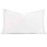 ENZO WHITE/SILVER KING SHAM