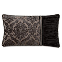 Isadora Charcoal King Sham (Right)